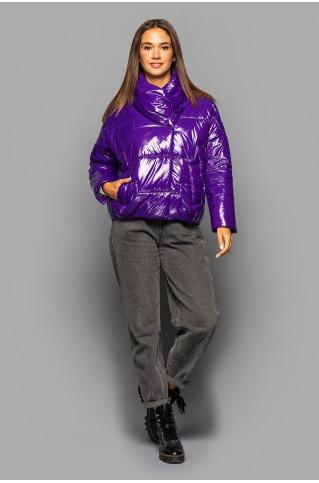 куртка женская KTL-295 сливовая